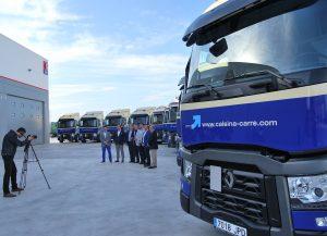 Entrega de vehículos nuevos a Calsina Carré