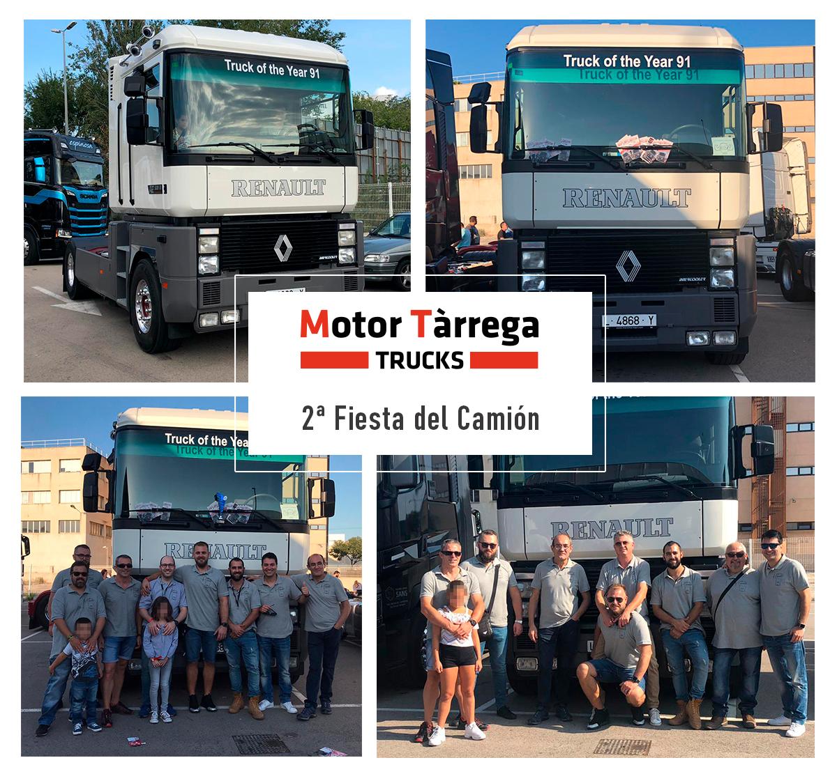 Motor Tàrrega, presente en la 2ª Fiesta del Camión de Barcelona